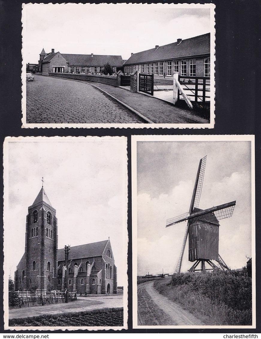 OPRUIMING ---- 39 X CPA - CPM - PERSFOTO ** WAREGEM En Nieuwenhove ** ZIE SCANS - Waregem