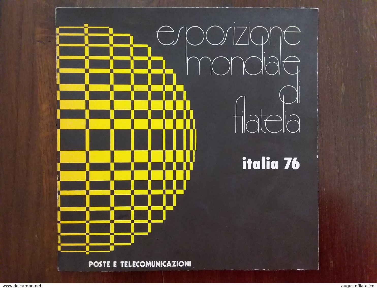 REPUBBLICA - Expo Italia '76 - Cartoncino Ufficiale Delle Poste - Nuovi E Timbrati + Spese Postali - 6. 1946-.. Repubblica