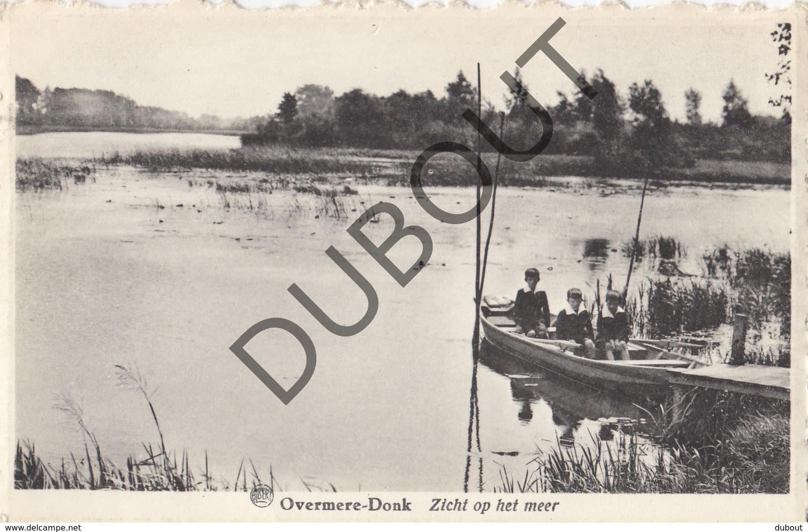 Postkaart/Carte Postale BERLARE DONKMEER Overmere-Donk Zicht Op 't Meer (O309) - Berlare