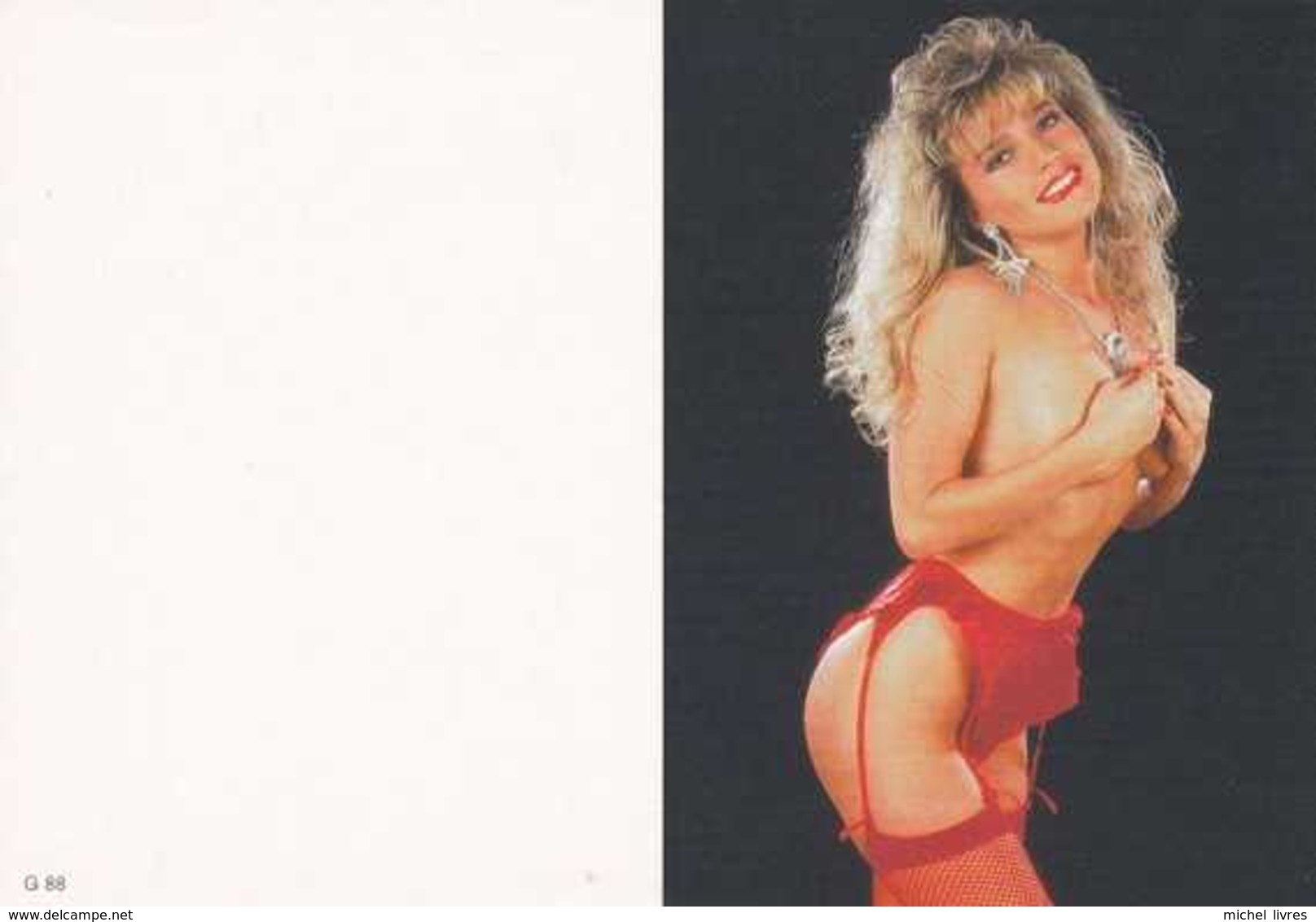 Calendrier De Poche Pin-Up Nue - Naked - 1999 - G88 - Etat Neuf - Erotiques (…-1960)
