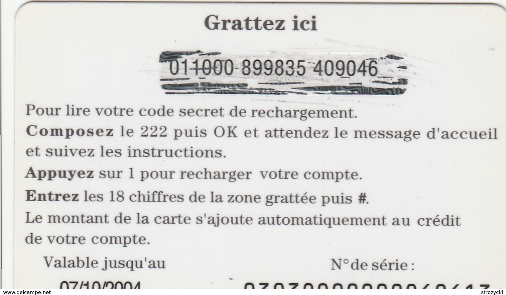 Niger - Nomade 3000 FCFA - Niger