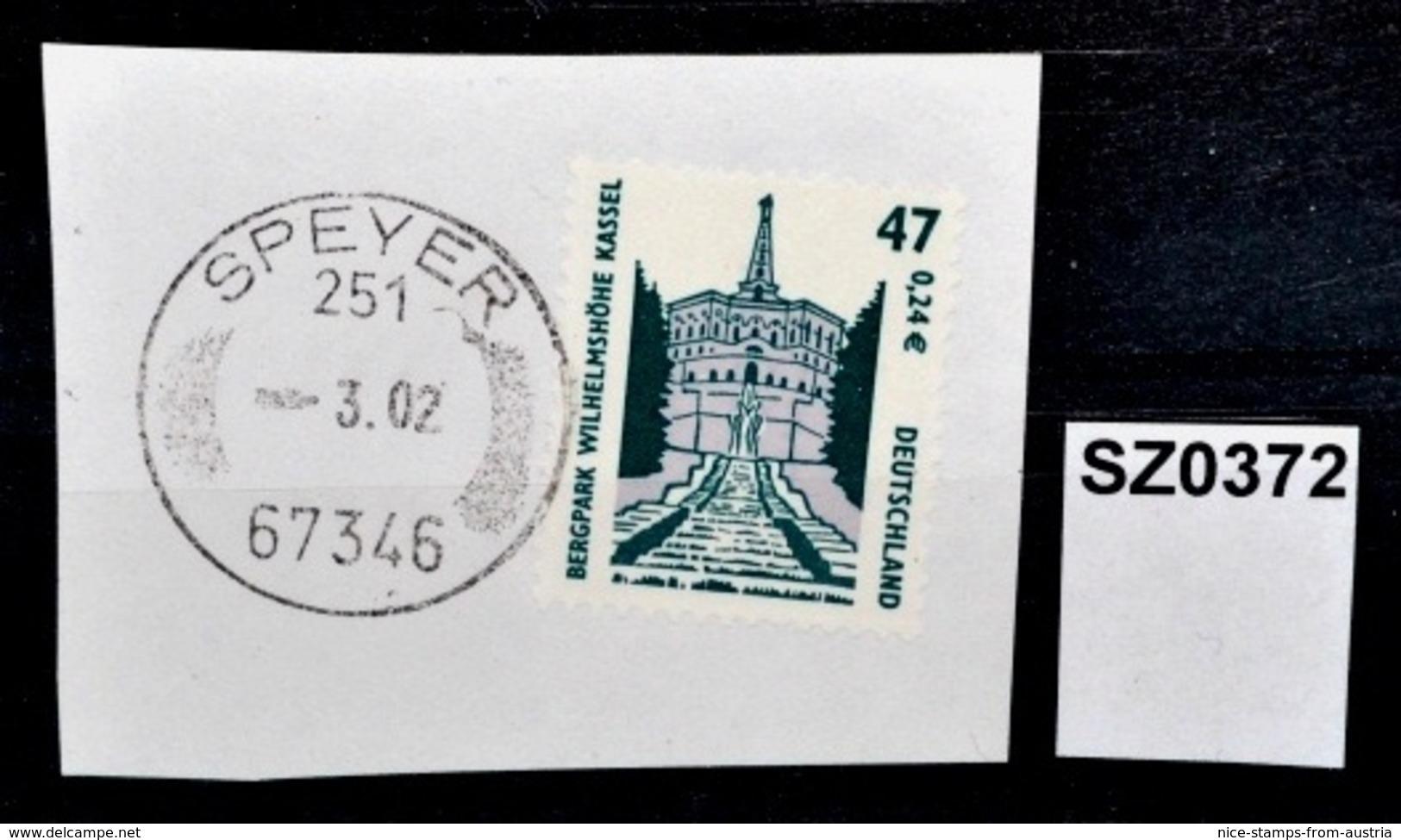 SZ0372 Stempel Ohne Jahresangabe, 67343 Speyer 251 DE ???? - [7] Federal Republic