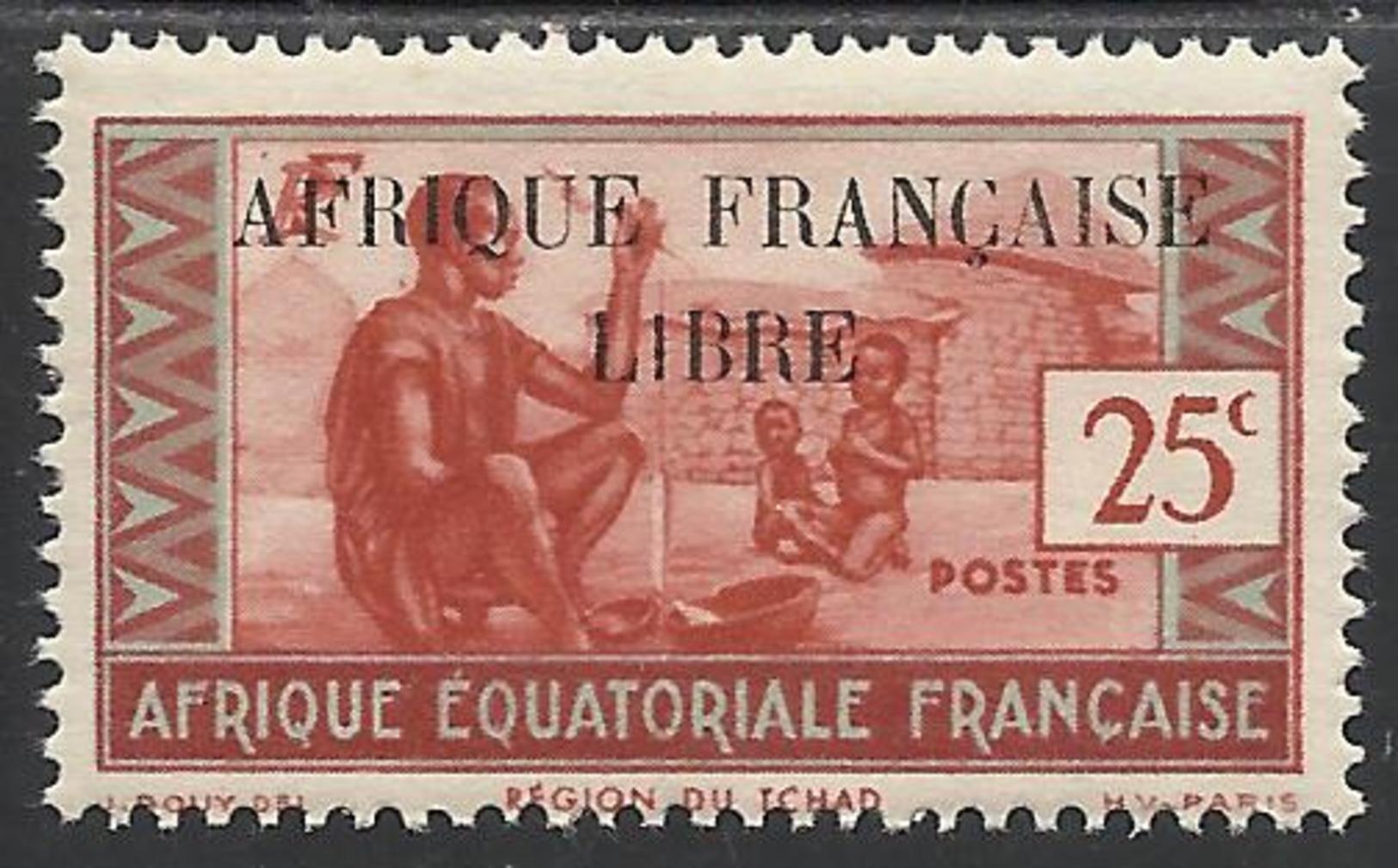 AFRIQUE EQUATORIALE FRANCAISE - AEF - A.E.F. - 1940 - YT 99** - A.E.F. (1936-1958)