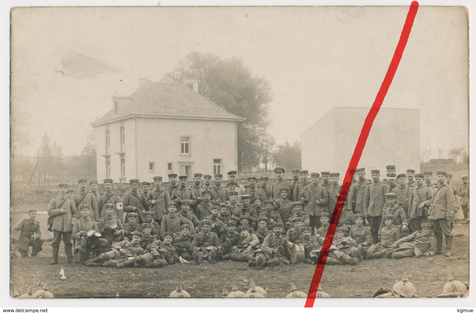 Original Foto - 21. Oktober 1914 - St. Privat Bei Gravelotte - Feldpost - Metz