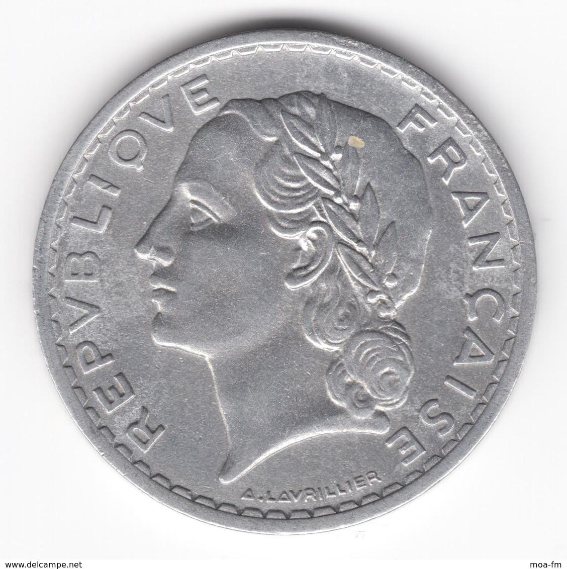 5 Francs Lavrillier 1950 B - France