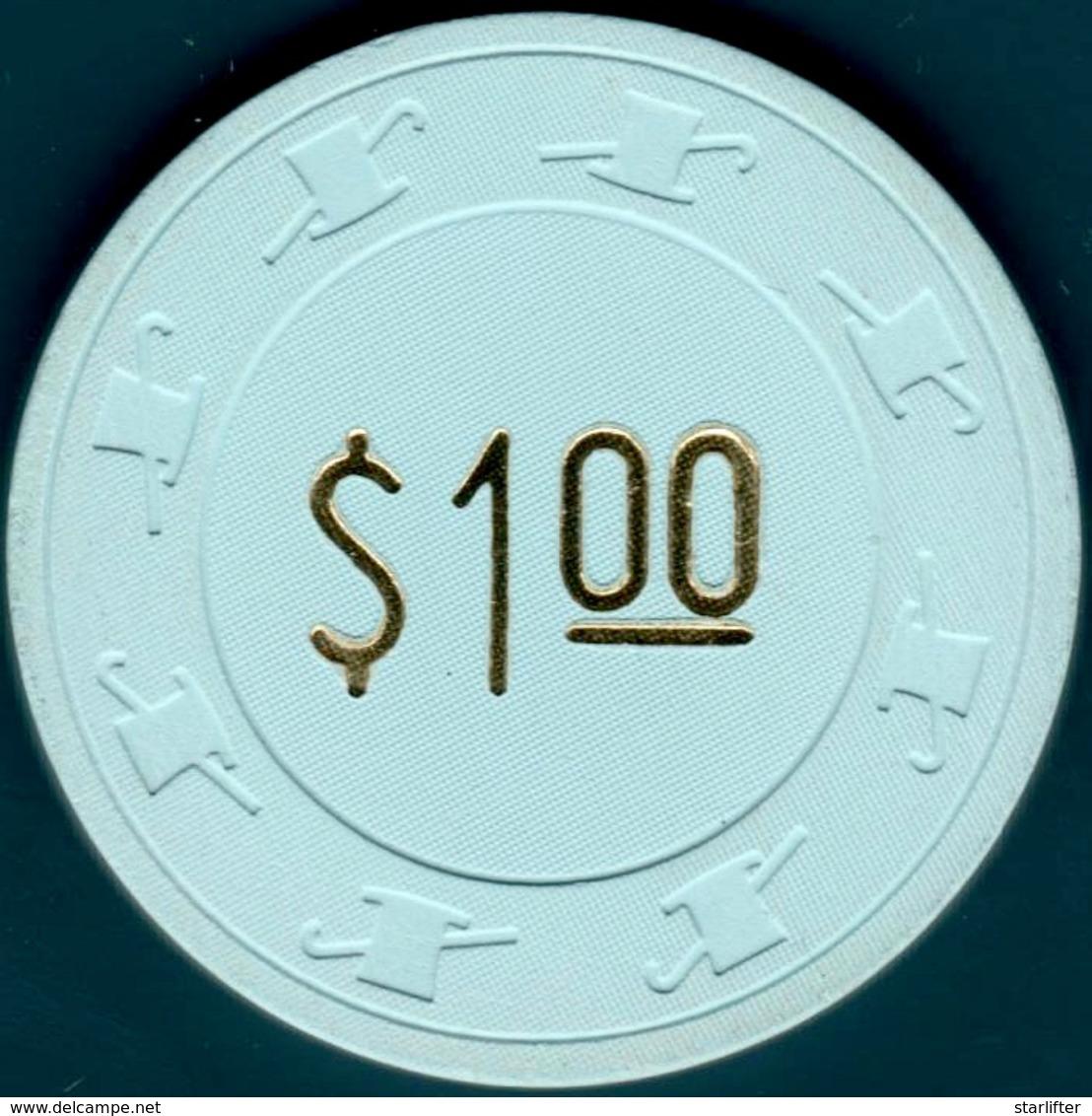 $1 Casino Chip. Swanky, Henderson, NV. I08. - Casino