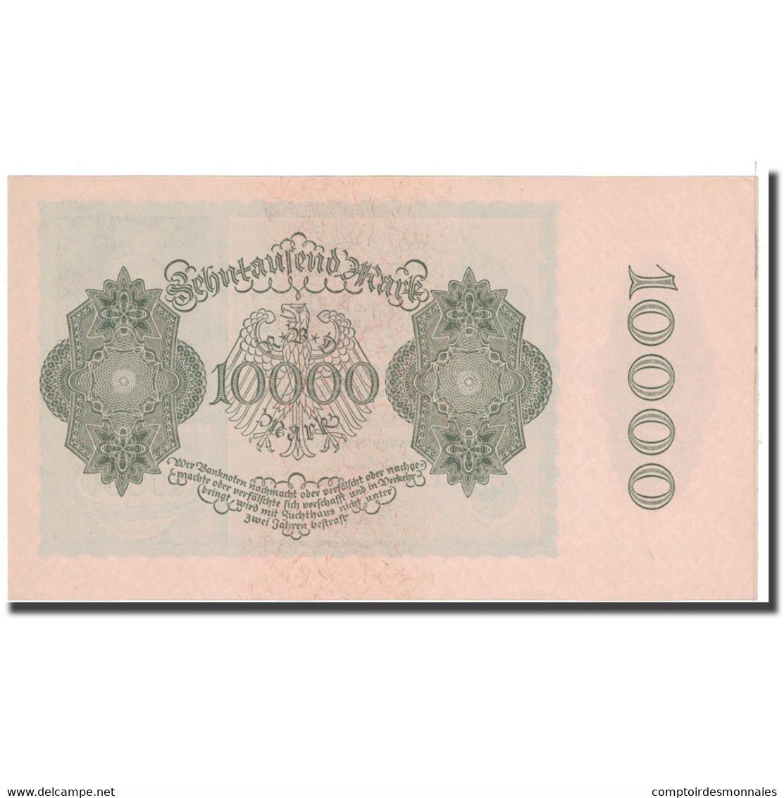 Billet, Allemagne, 10,000 Mark, 1922, 1922-01-19, KM:72, NEUF - [ 3] 1918-1933: Weimarrepubliek