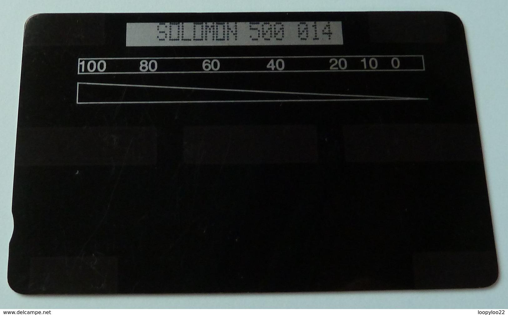 SOLOMON ISLANDS - GPT Chorley Test - 1000 Units - 500 014 - 100ex - Mint - Isole Salomon