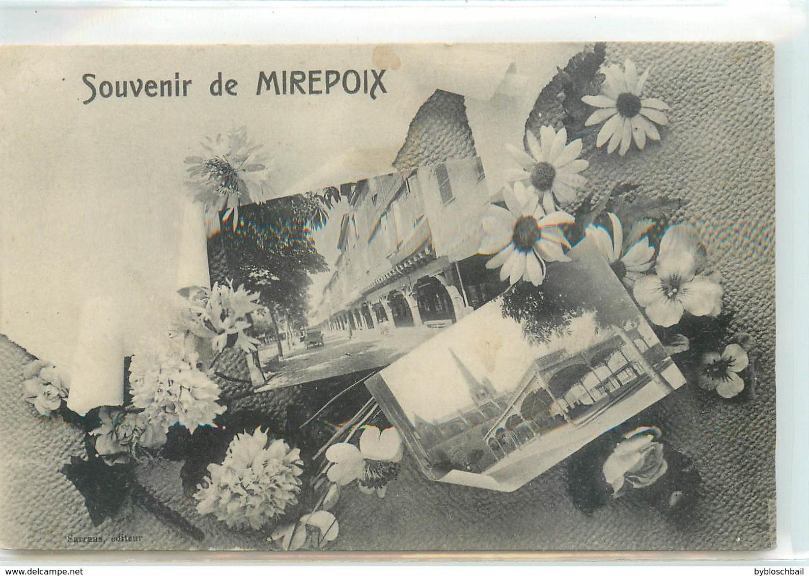 CPA 09 ARIEGE Souvenir De Mirepoix - Mirepoix