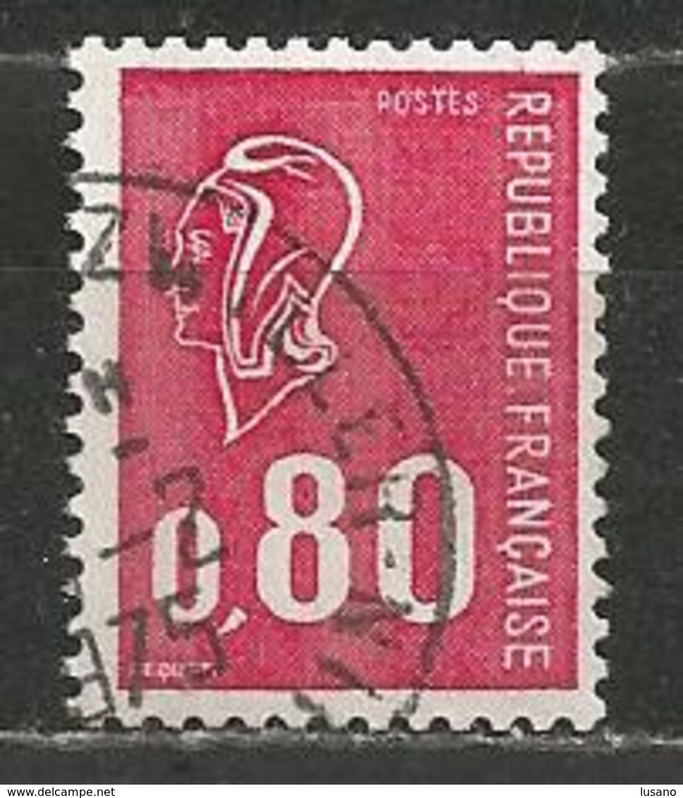 YT 1816 Marianne De Bequet (0,80) - Lot De 700 Timbres Oblitérés - Timbres