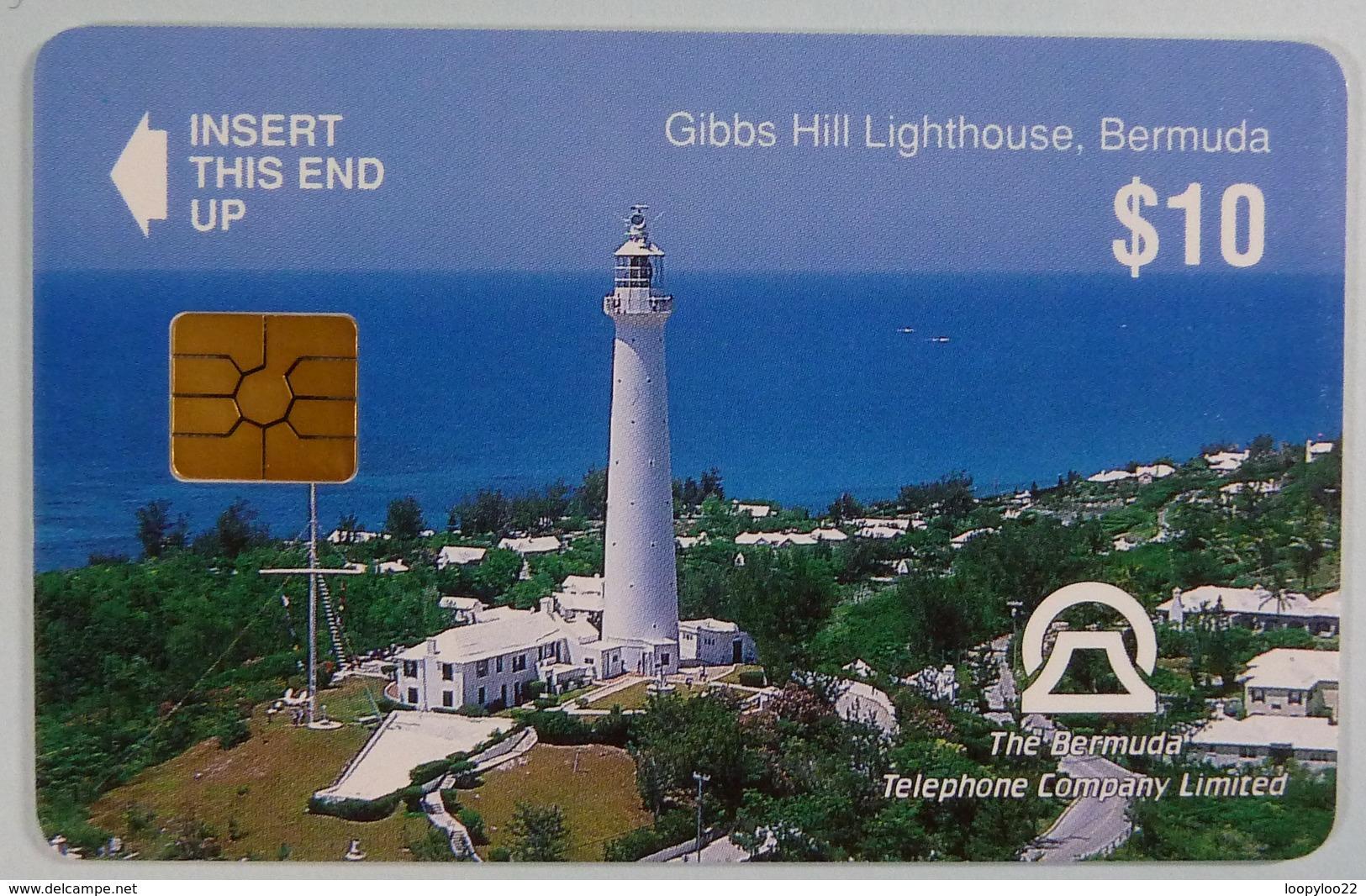 BERMUDA - Chip - Gibbs Hill Lighthouse - $10 - Mint - Bermuda