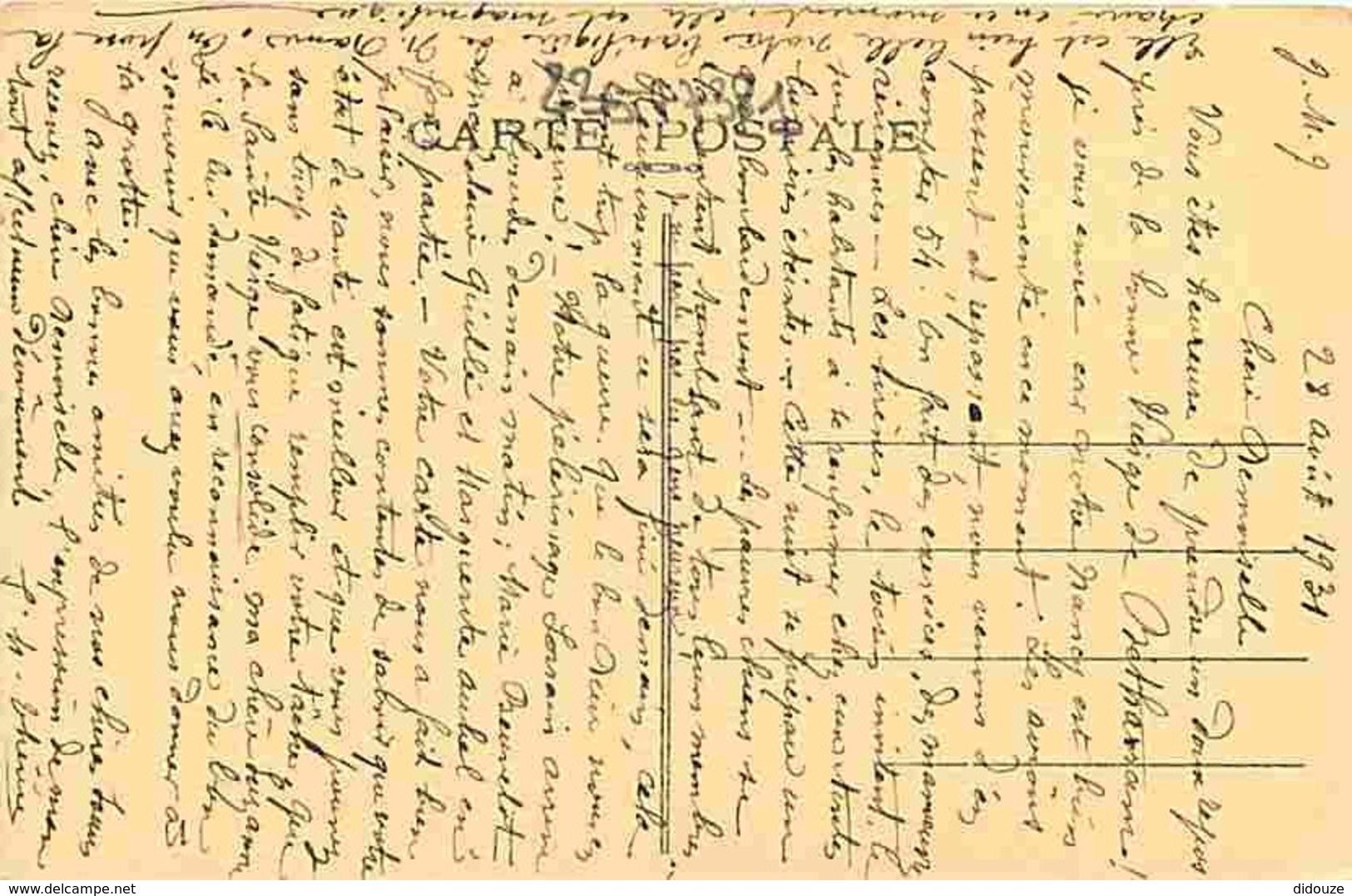 54 - Nancy - Basilique Notre Dame De Lourdes Au 1e Juillet 1931 - Correspondance - Voyagée En 1931 - Voir Scans Recto-Ve - Nancy