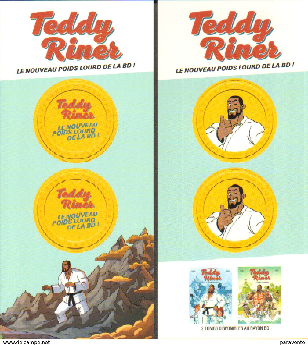 JIKKO : Carte Publicité TEDDY RINNER - Salomonseilanden