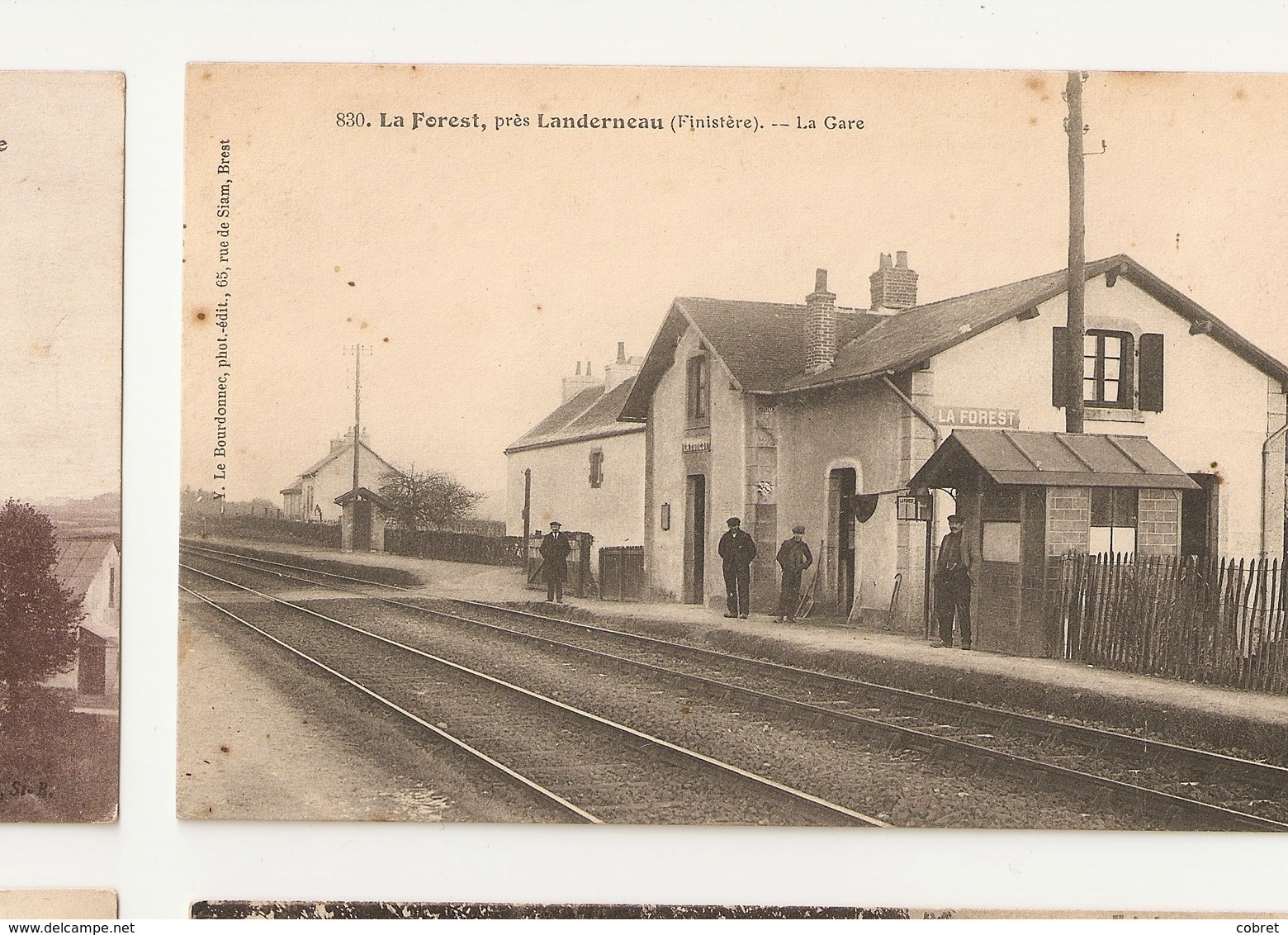 La Forest LANDERNEAU - La Gare - France