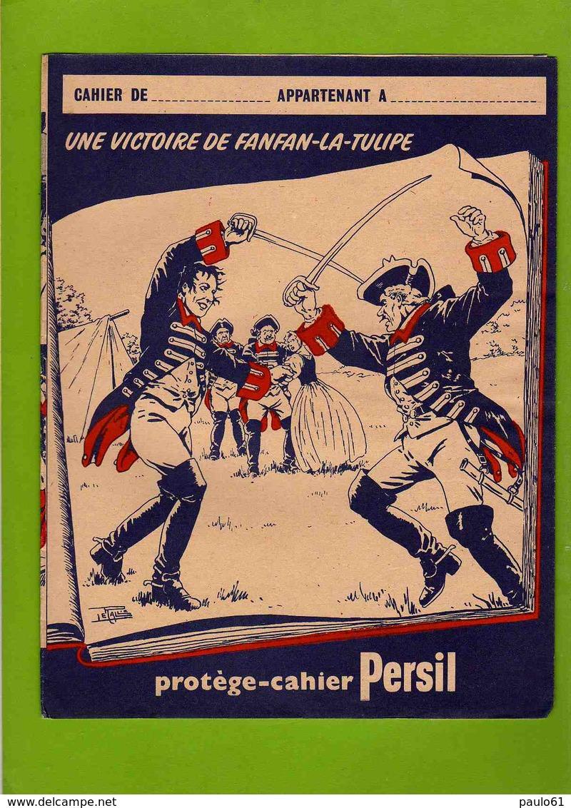 PROTEGE CAHIER : PERSIL  Une Victoire De Fanfan La Tulipe - Protège-cahiers