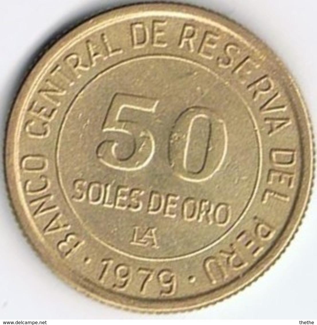 PEROU - 50 SOLES  DE ORO  - 1979 - Pérou