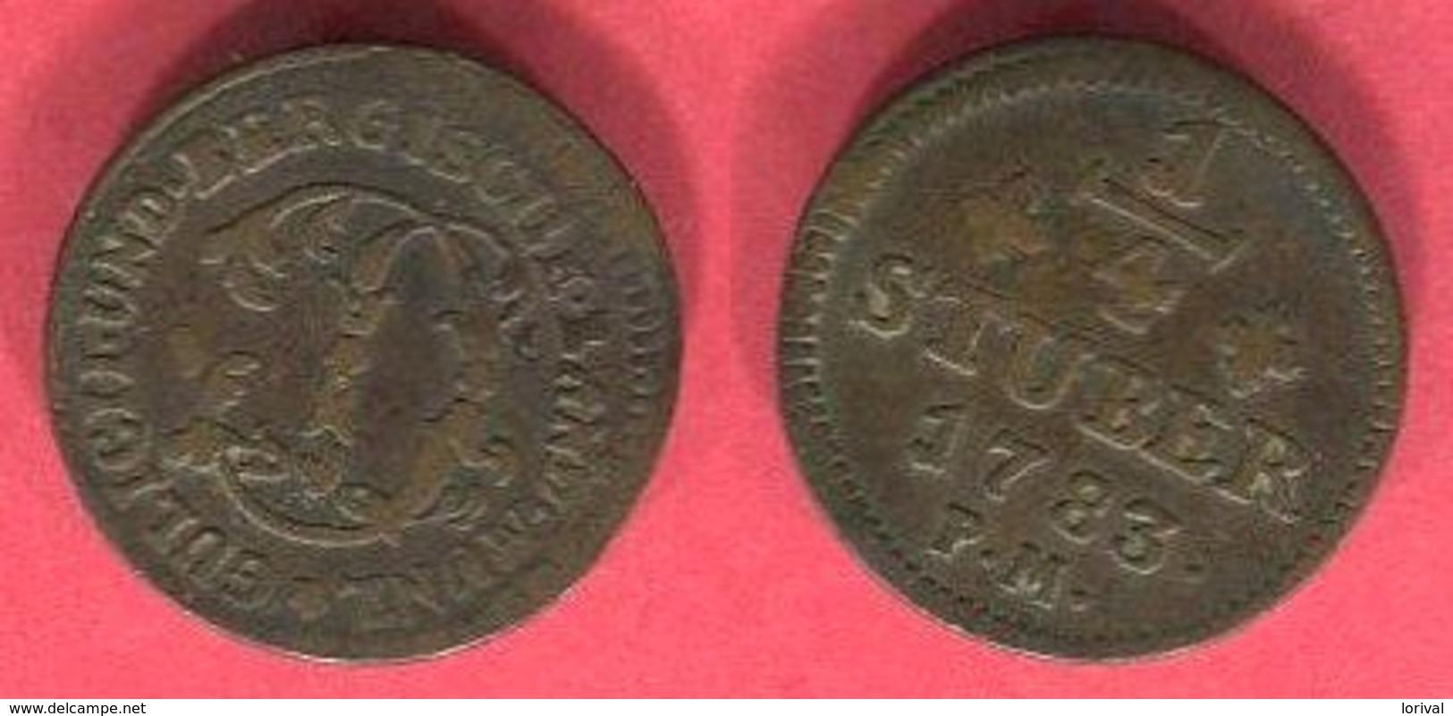 JULICH BERG   ( KM 205 ) TB 3 - [ 1] …-1871 : German States