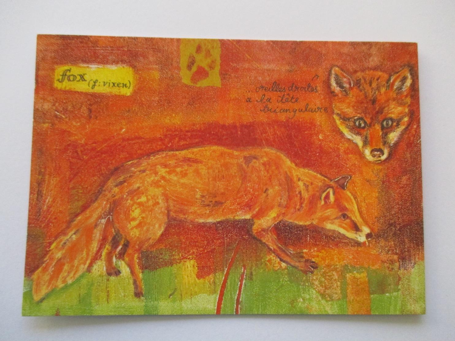 Renard Red Fox  Poule Oeufs Poulailler - Autres
