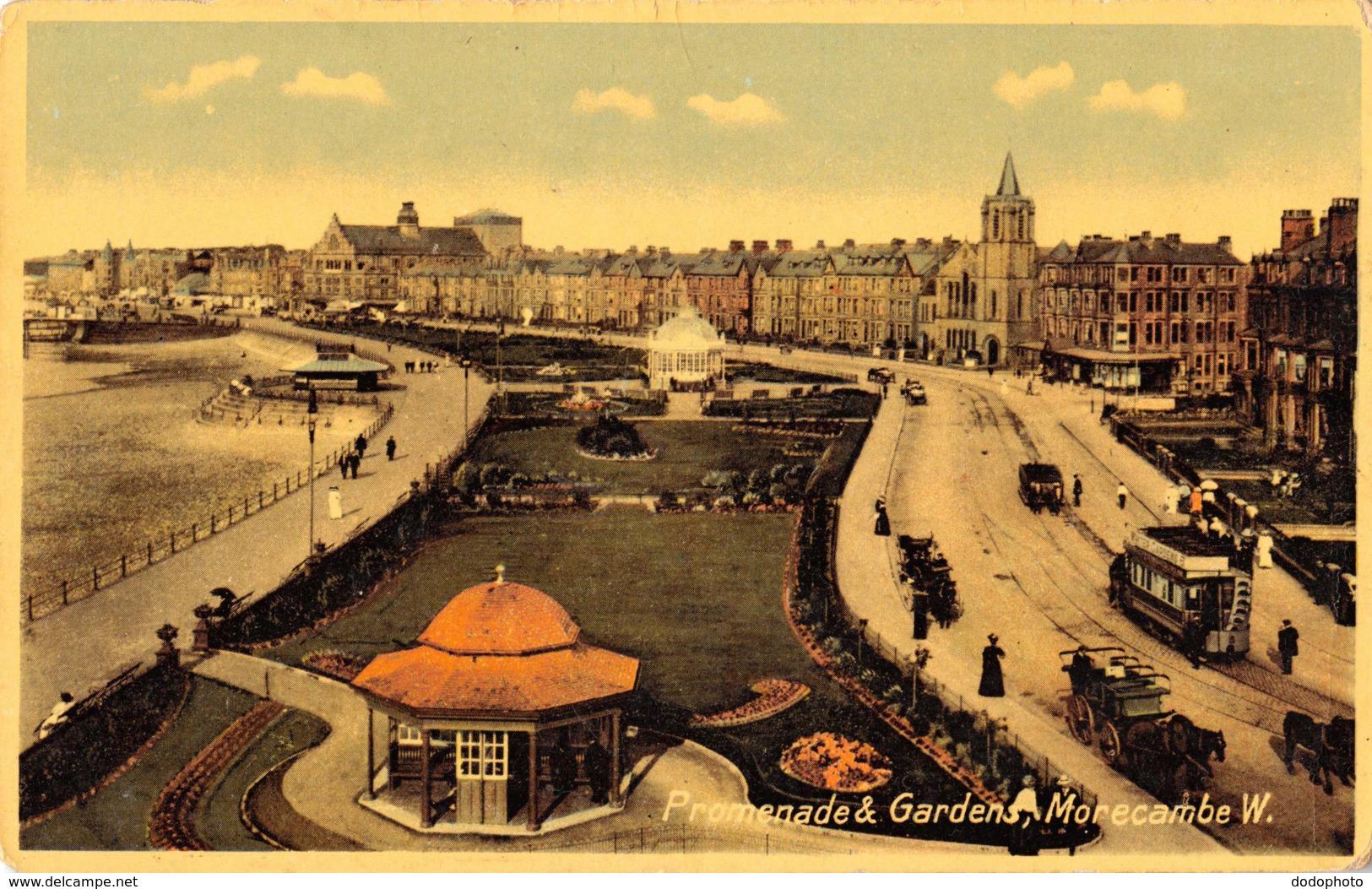R097892 Promenade And Gardens. Morecambe W - Cartes Postales
