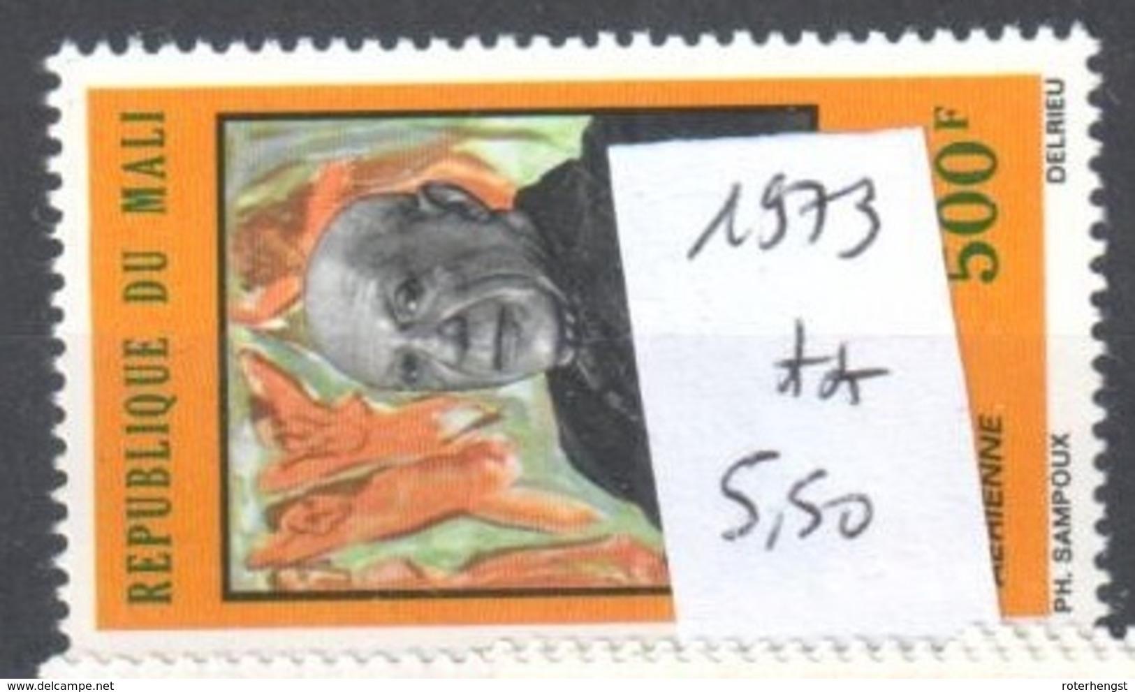 Mali Mnh ** Adenauer 5,5 Euros - Mali (1959-...)