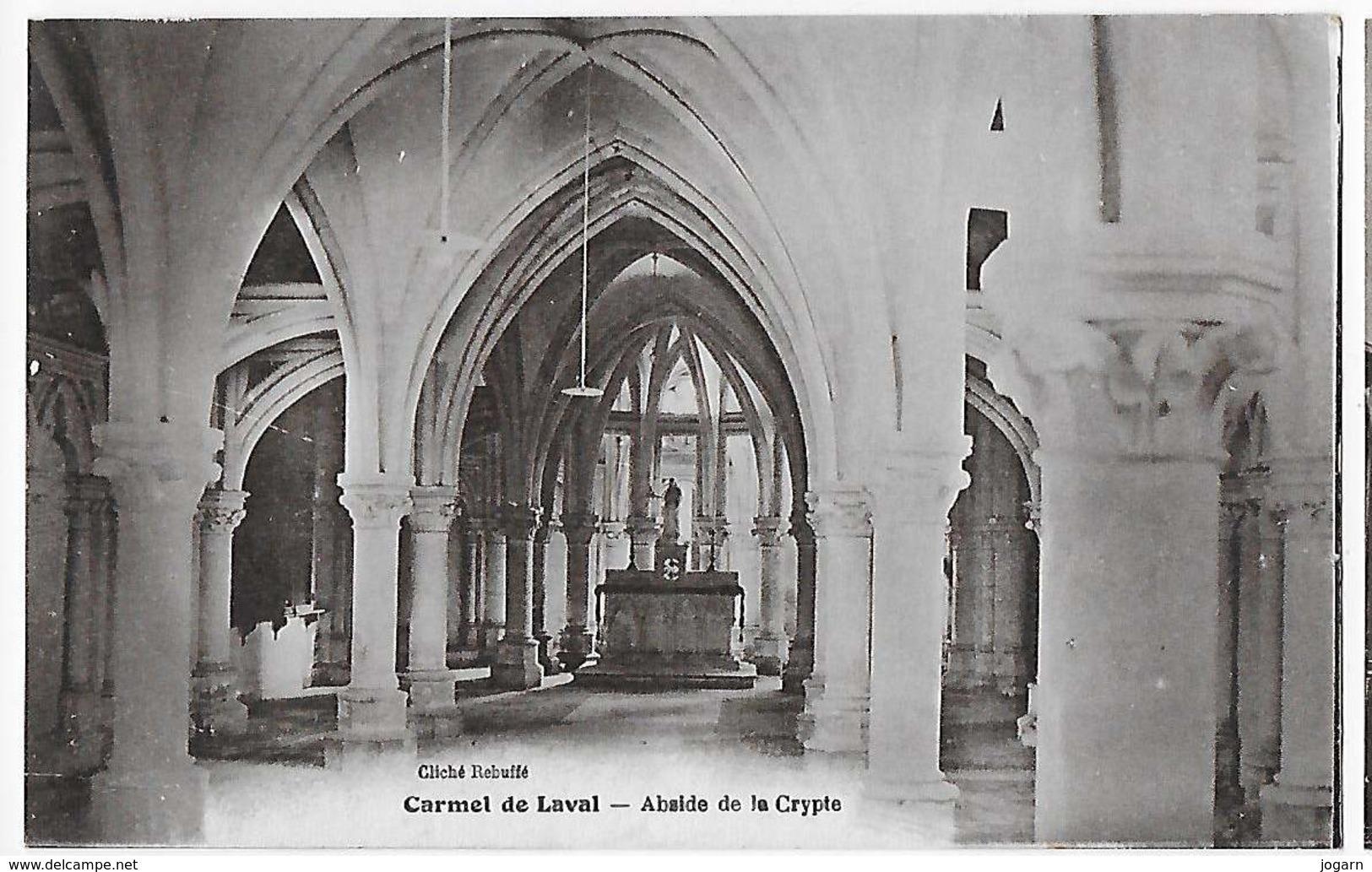 53 - LAVAL - Le Carmel  - L'Abside De La Crypte      BA - Laval