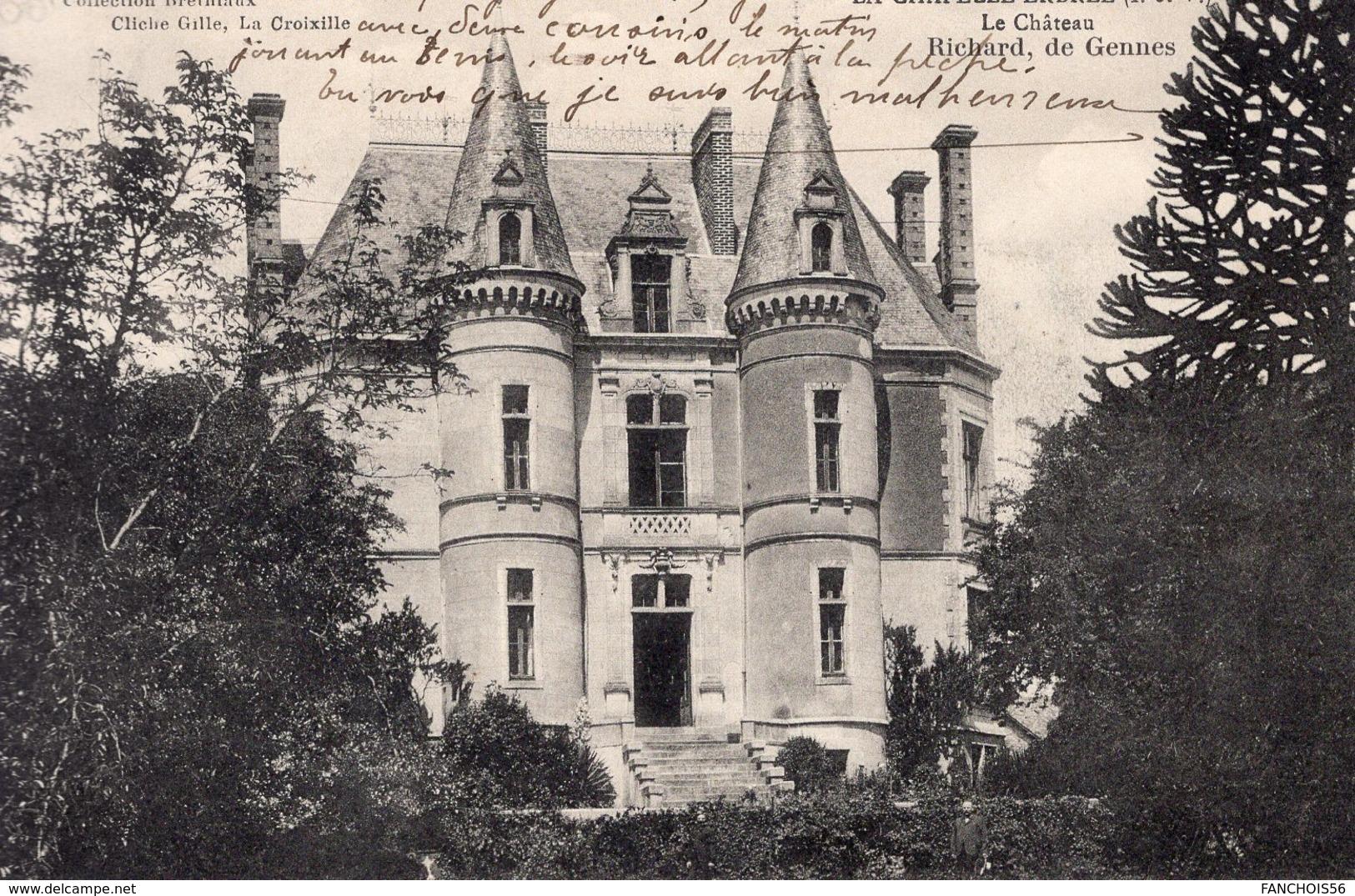 La Chapelle -Erbrée (35) - Le Château. - France