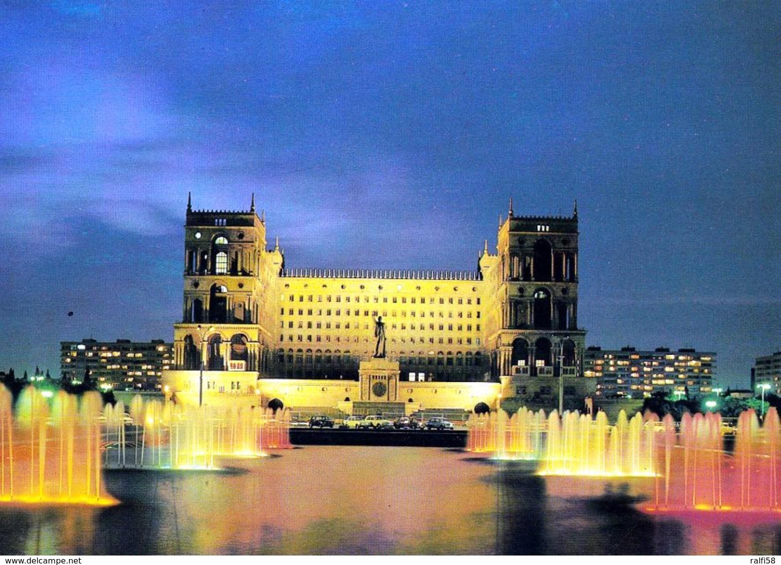 1 AK Aserbaidschan / Azerbaijan * Das Parlamentsgebäude In Der Hauptstadt Baku * - Azerbaïjan