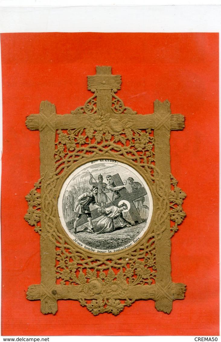 CANIVET - Chemin De Croix, 9ème Station - - Images Religieuses