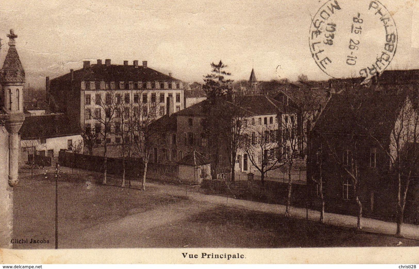 DPT 57 CHATEAU-SALINS Ecole Ménagère Sainte Marie - Chateau Salins