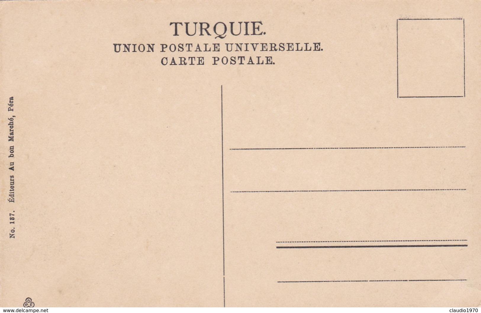 CARTOLINA - POSTCARD - TURCHIA - CONSTANTINOPLE - MOSQUèE ST. SOPHIE - Turchia