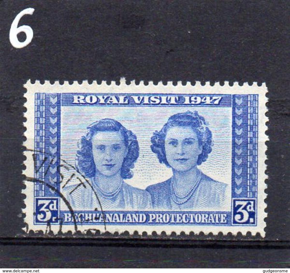1947 Royal Visit 3d Used - Bechuanaland (...-1966)