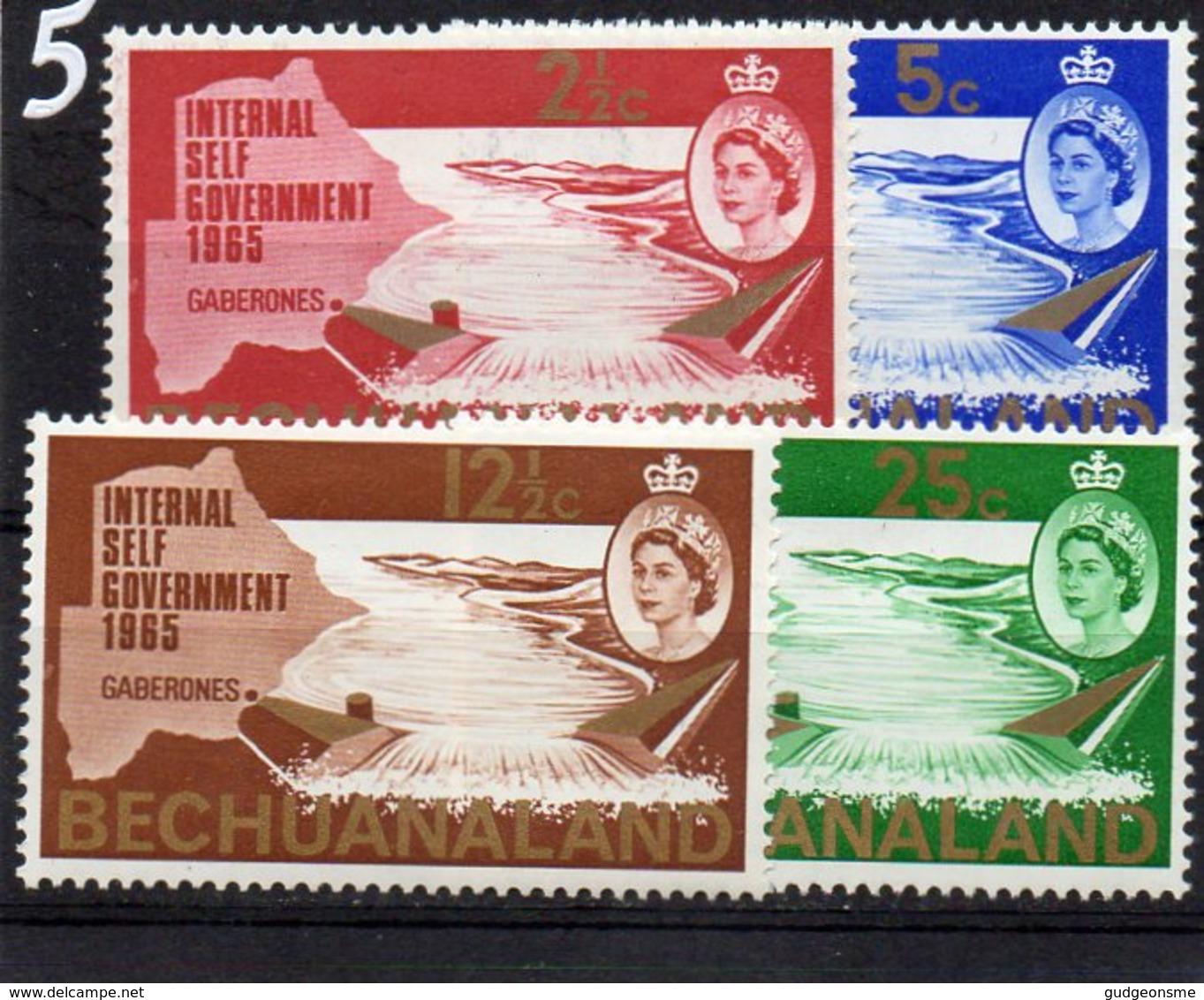 1965 New Constitution Set MNH - Bechuanaland (...-1966)