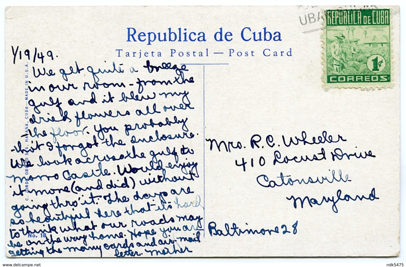 CUBA : HABANA / HAVANA - PORTADA DEL CEMENTERIO / ENTRANCE TO CEMETERY - Cuba