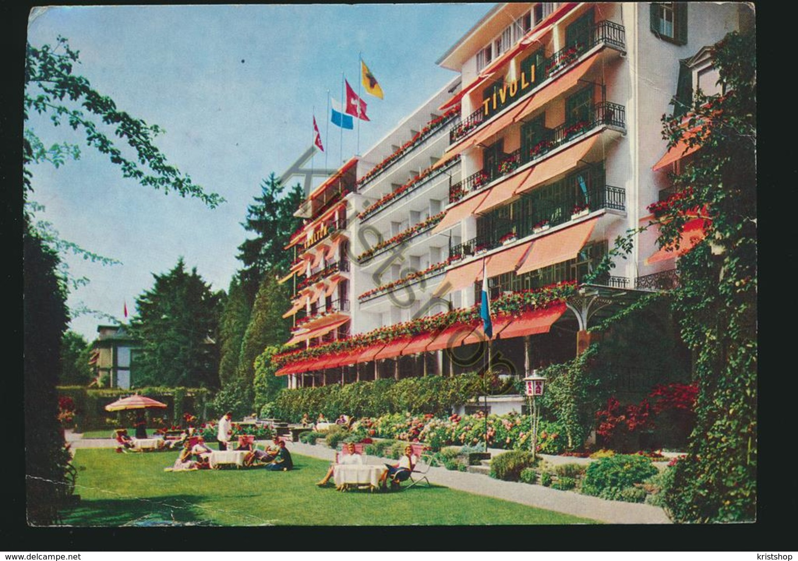 Lucerne - Carlton Hotel Tivoli [ AA39 0.802 - Zonder Classificatie