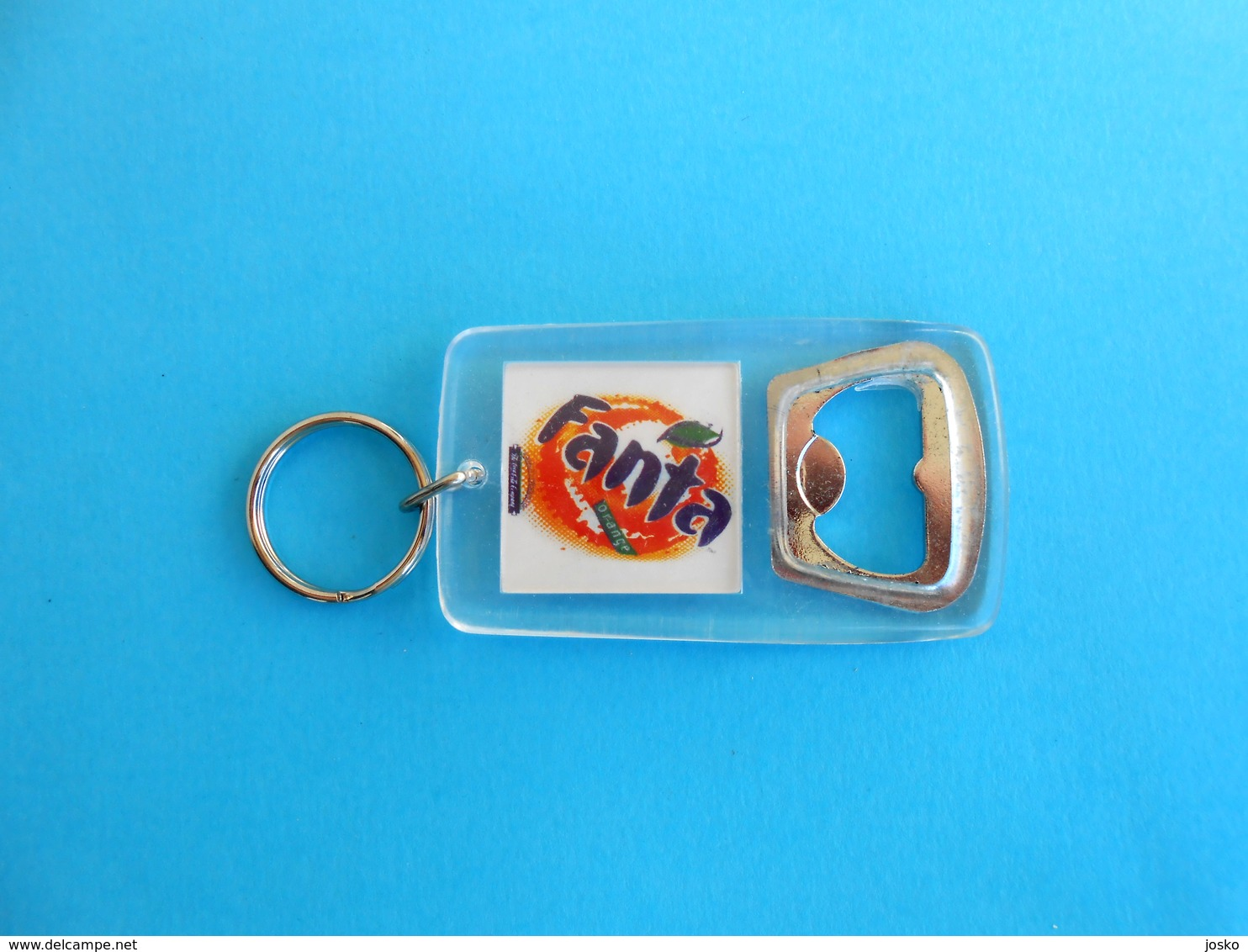 FANTA ( The Coca-Cola Company ) ... Bottle Opener - Keychain - Ouvre-bouteilles & Tire-bouchons