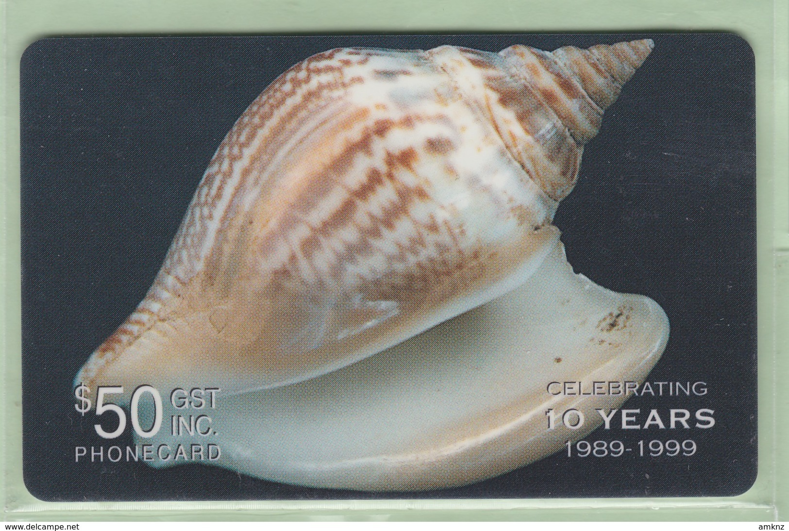 Solomon Island - Remote Memory - 1999 Shells - $50 - SOL-R-03 - VFU - Isole Salomon