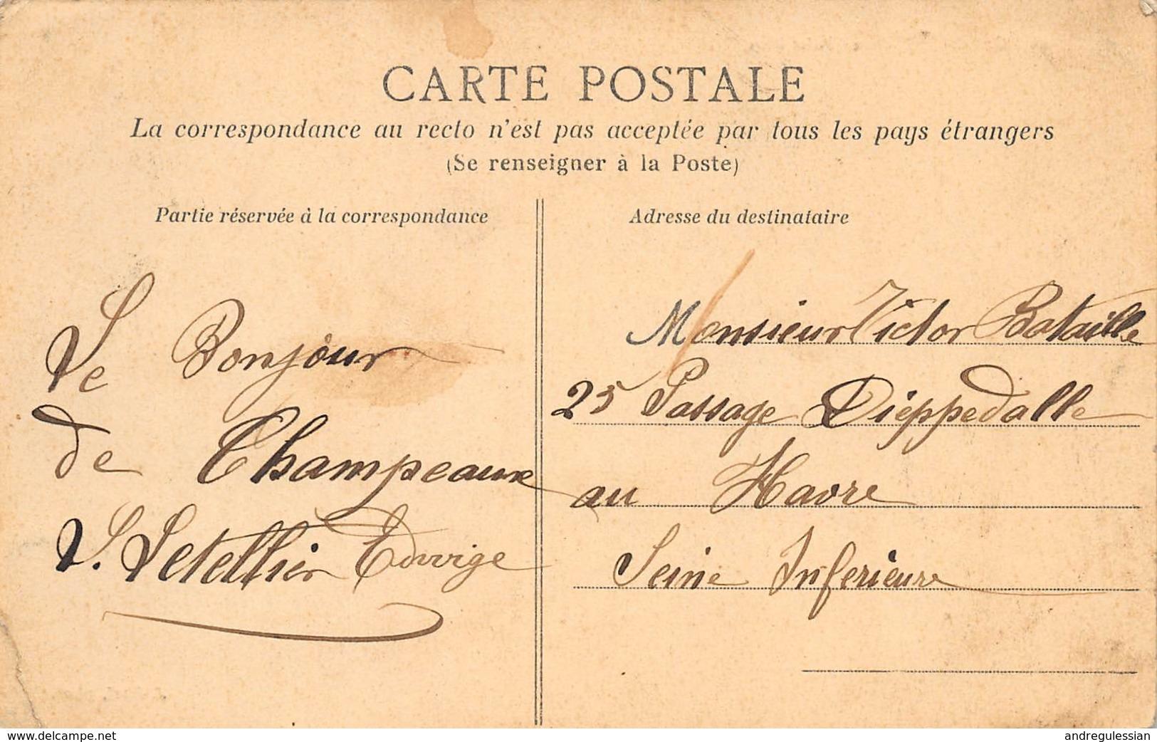 CPA CAROLLES - Le Chalet Bleu - Frankrijk