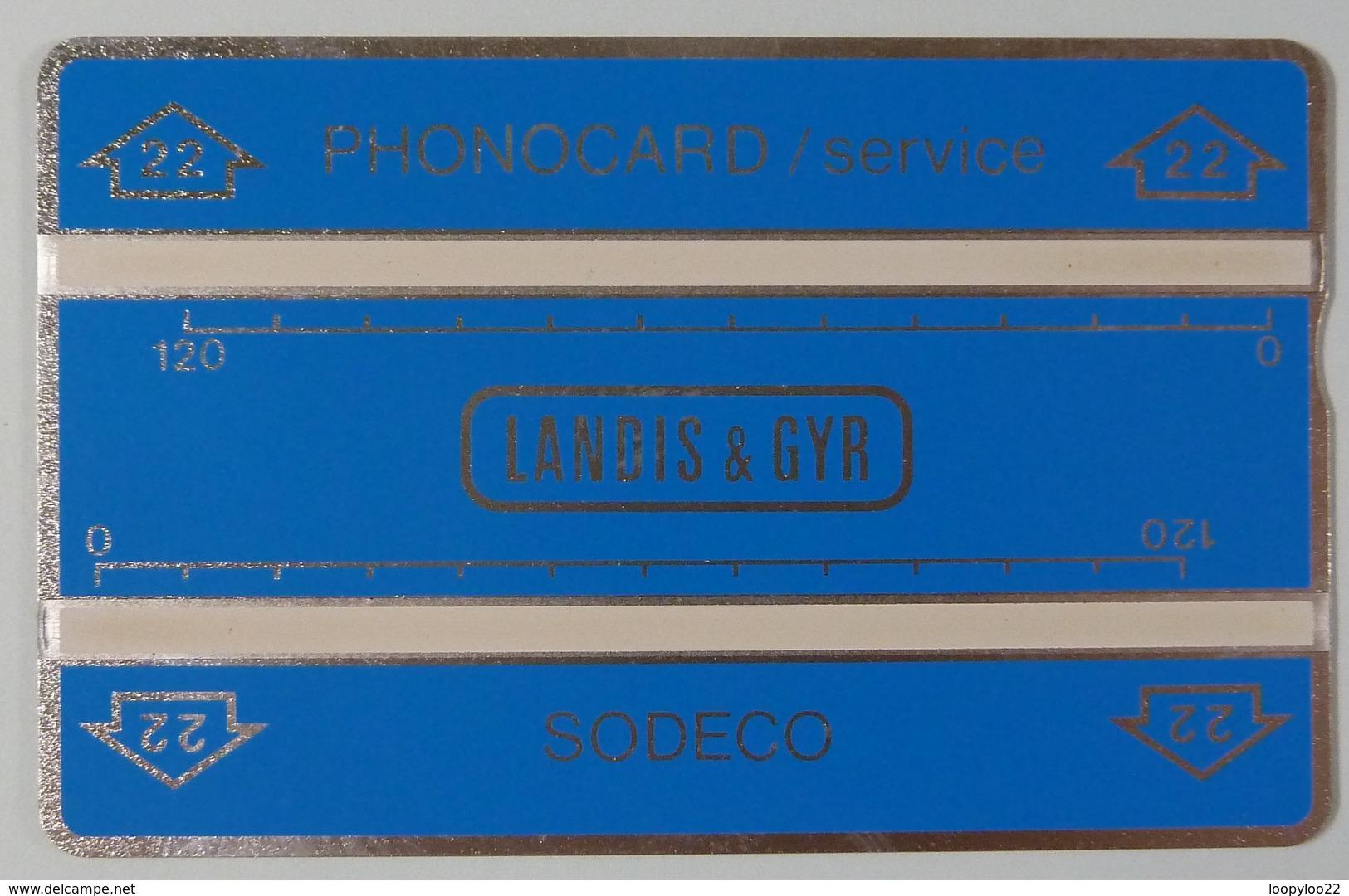 CAPE VERDE - L&G - Landis & Gyr - 012G - Service - CPV-T-1 - 240 Units - MINT - Cap Vert