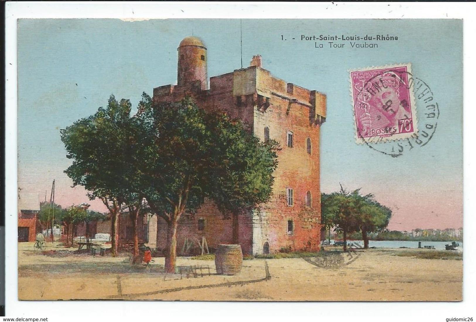 Port Saint Louis Du Rhone,la Tour Vauban - Saint-Louis-du-Rhône