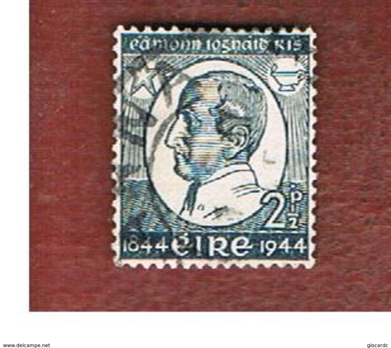 IRLANDA (IRELAND) -  SG 135 -  1944  E.I. RICE  - USED - 1937-1949 Éire