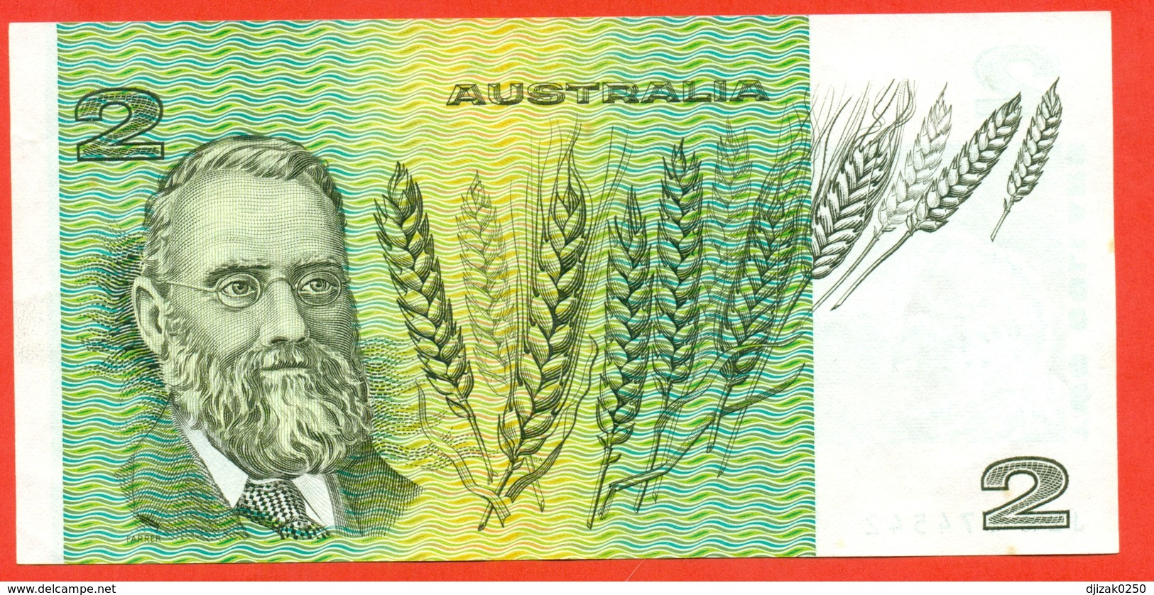 Australia 1983. 2 Dollars. UNC. - 1974-94 Australia Reserve Bank