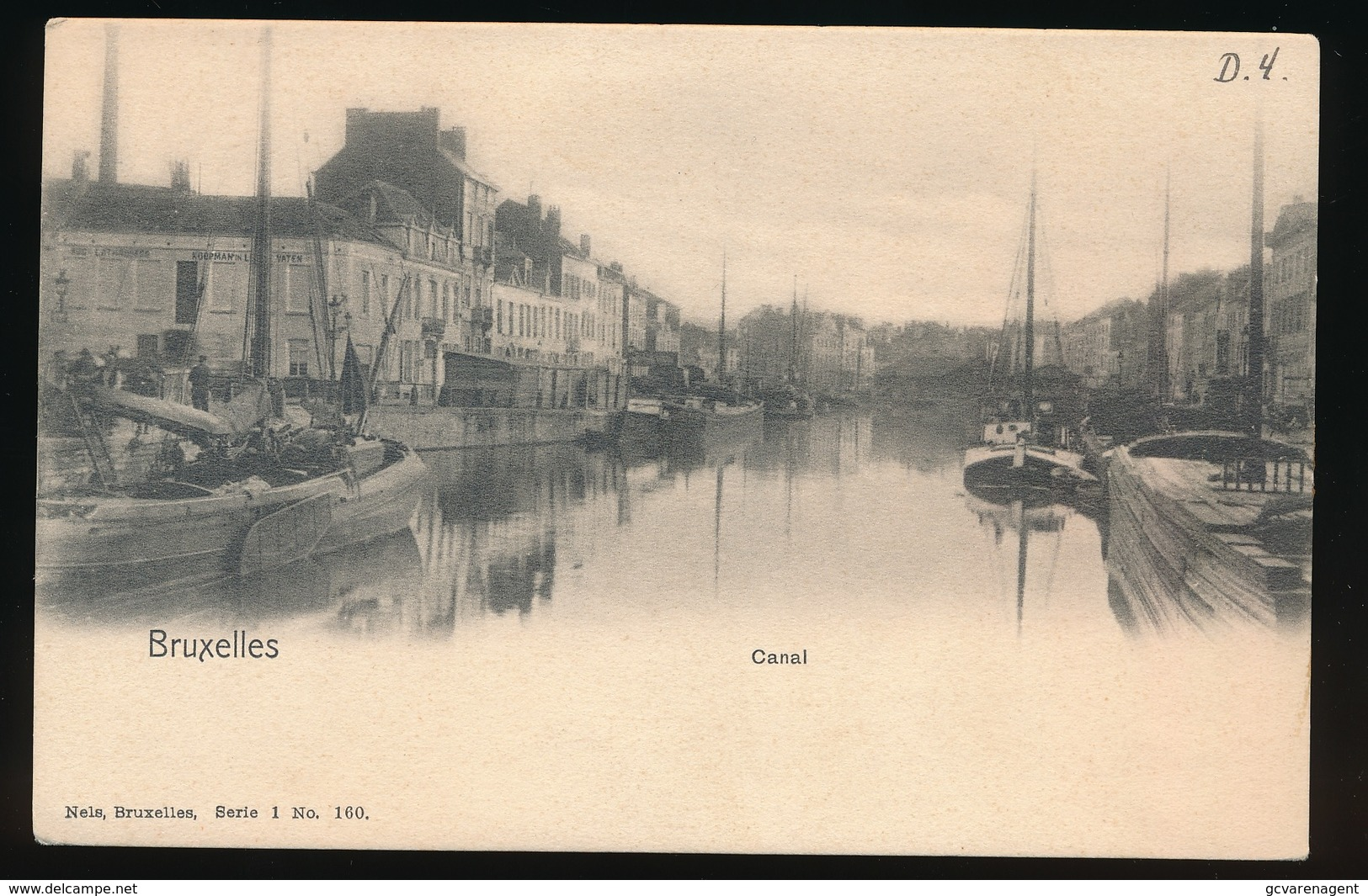 BRUXELLES   CANAL - Maritiem