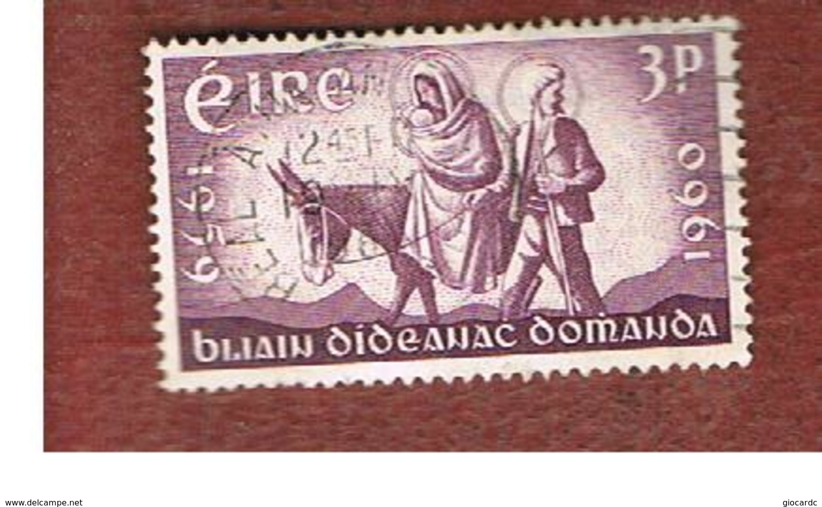 IRLANDA (IRELAND) -  SG 180 -    1960 WORLD REFUGEE YEAR  - USED - 1949-... Repubblica D'Irlanda