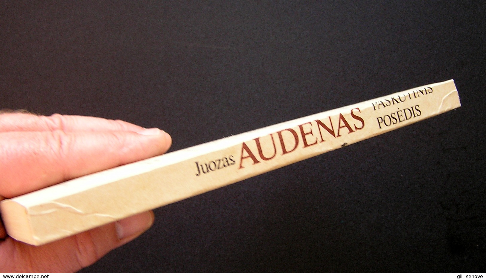 Lithuanian Book / Paskutinis Posėdis By J. Audėnas 1989 - Livres, BD, Revues