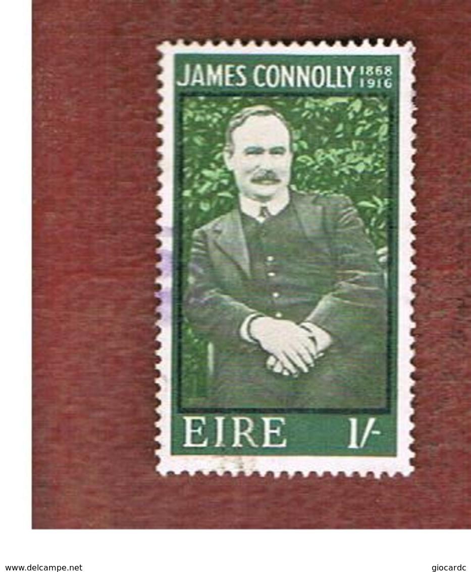 IRLANDA (IRELAND) -  SG 246   -    1968  J. CONNOLLY, PATRIOT   - USED - Usati