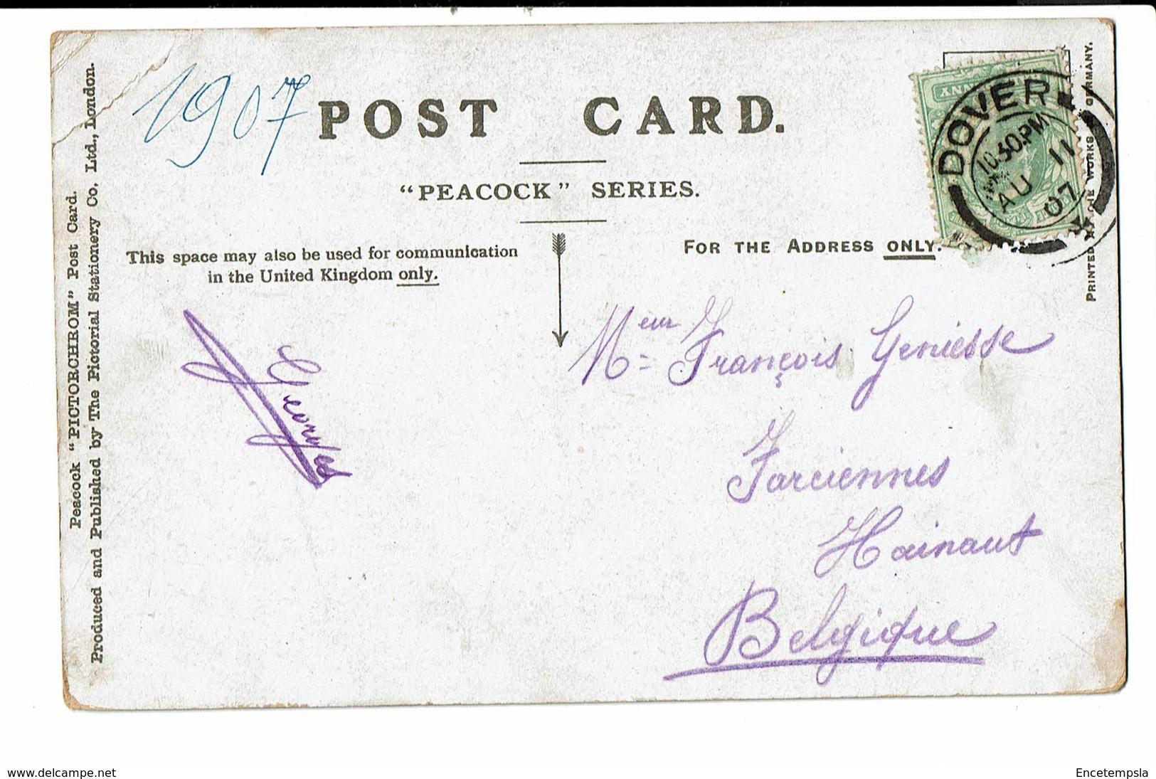 CPA - Carte Postale -Royaume Uni -Dover - Shakespeare Cliff -1907-VM1077 - Dover