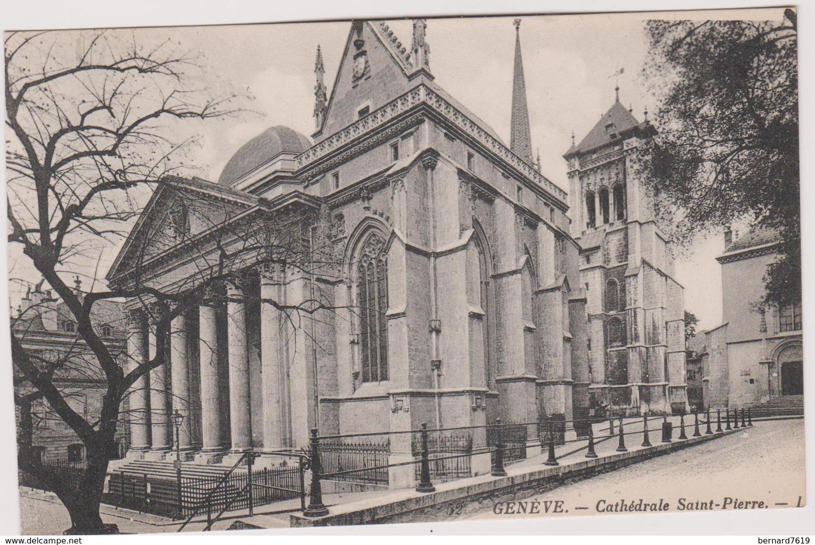 Suisse Geneve  Cathedrale Saint Pierre - GE Genève
