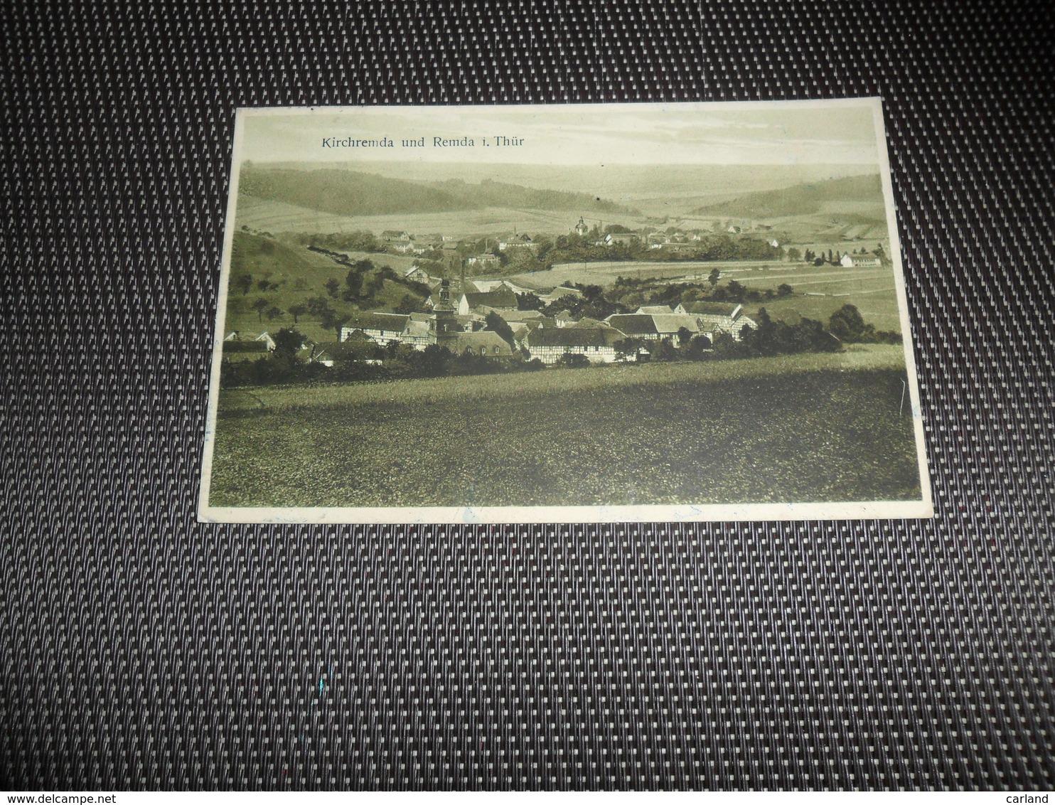 Duitsland ( 224 )  Deutschland  Allemagne  :   Kirchremda Und Remda I. Thür - Da Identificare