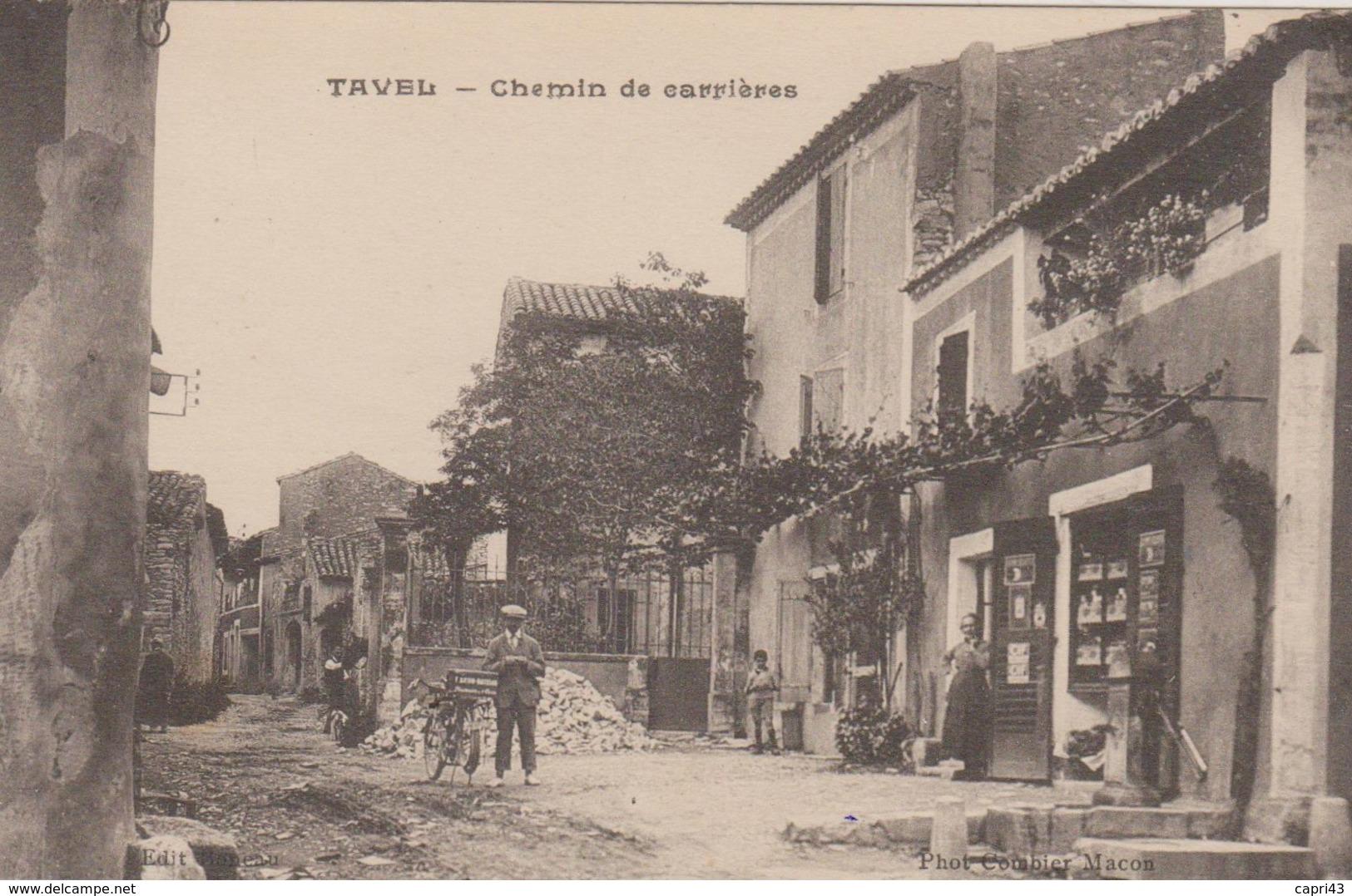30 - GARD - Tavel - Chemin De Carrières - Frankreich