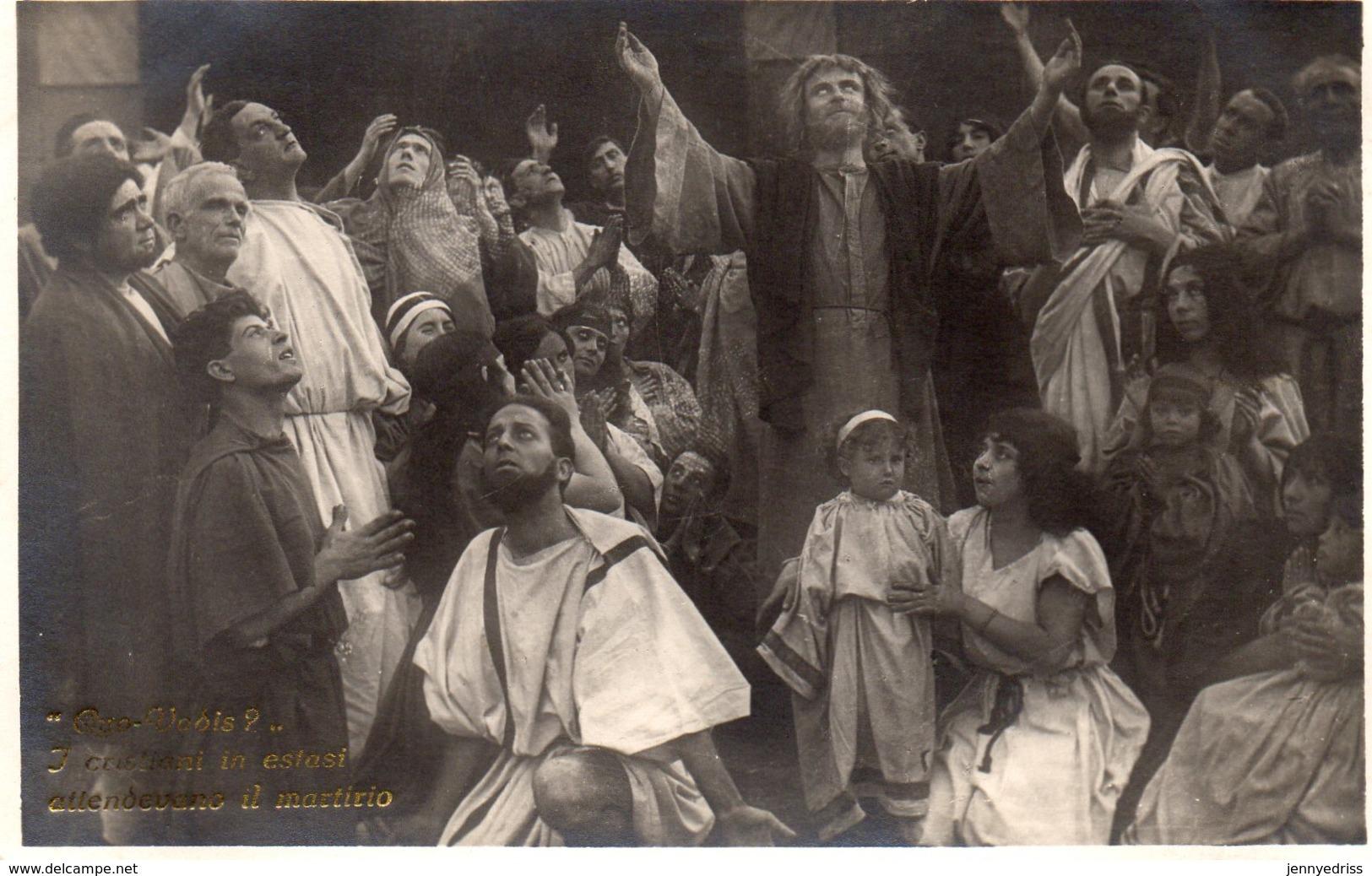 QUO  VADIS  ,  Film Muto  Del 1924  Regia Gabriellino  D Annunzio  E  Georg Jacoby - Attori